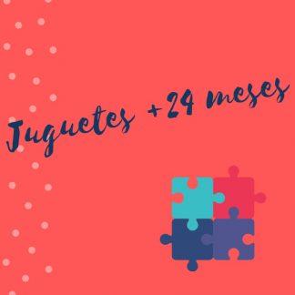 Juguetes +24 meses